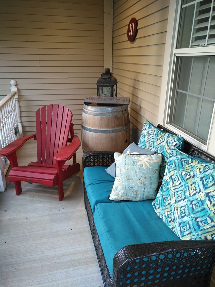 Veranda barrel