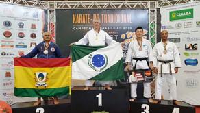 Campinenses conquistam medalhas no Campeonato Brasileiro de Karatê Tradicional