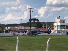 Trabalhador cai de quatro metros de altura; já é o segundo acidente do tipo em Campina