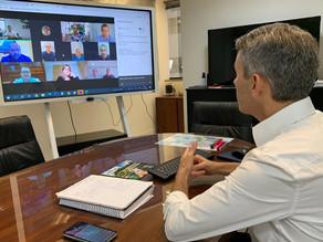 Prefeitos(as) eleitos na RMC participam de reunião virtual com a Comec