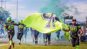 HP Tigers é campeão do Paranaense de Futebol Americano 2019