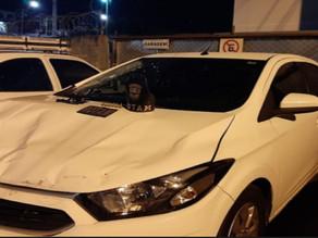 Com carro roubado, homem é preso em Colombo
