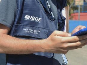 Processo seletivo do IBGE tem vagas para profissionais atuarem em Quatro Barras
