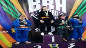 Atleta quatro-barrense é destaque em campeonatos de jiu-jitsu