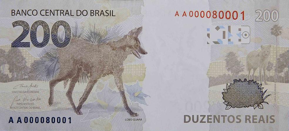 Entra em circulação nota de 200 reais