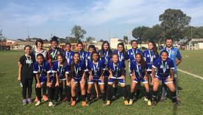 Quatro Barras: Equipe feminina de futebol conquista título nos Jogos Escolares Bom de Bola 2019