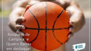 Competições de basquete movimentam Campina e Quatro Barras no próximo fim de semana