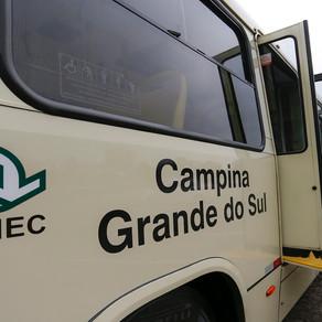 Campina Grande do Sul ganha integração de transporte público com Curitiba
