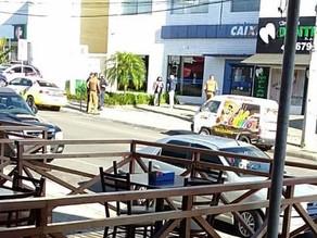Agência da Caixa Econômica Federal é alvo de bandidos no Jardim Paulista