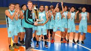 Equipe campinense é campeã da Iª Copa SMELJ de Basquete
