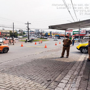 Colombo recebe ação de conscientização no trânsito