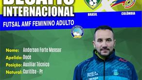 Técnico campinense é convocado para a Seleção Brasileira de Futsal Feminino Adulto