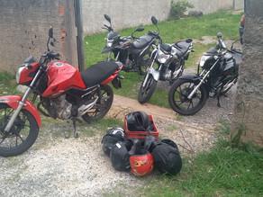 Rastreador leva PM a casa onde havia quatro motos furtadas em Colombo
