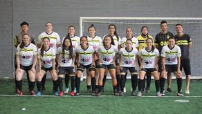 Equipe de futsal feminino da RMC é destaque em torneio paranaense