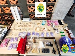 Mais de 3.500 quilos de drogas são apreendidos em Colombo