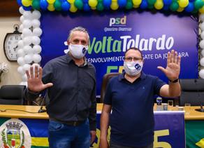 Loreno Tolardo é candidato a prefeito de Quatro Barras
