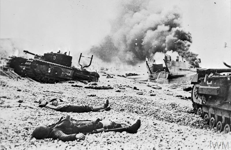 The Raid on Dieppe (19 August 1942)