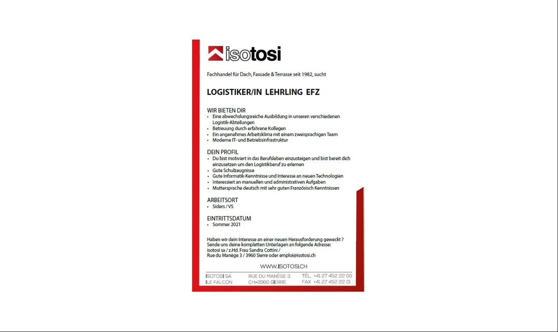 Logistiker/in Lehrling EFZ