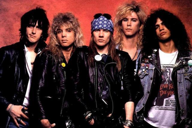 Guns N' Roses. Foto: Divulgação