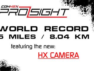 5 MILES (8.04km) CONNEX HD World Record set by Alex CineSky Romo Using an ITElite Antennas, Check it