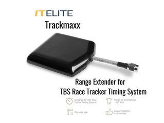 TrackMaxx Range Extender 250ft for TBS Race Tracker Timing System Available Now!