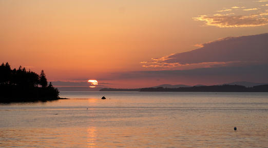 Sunset - Penobscot Bay