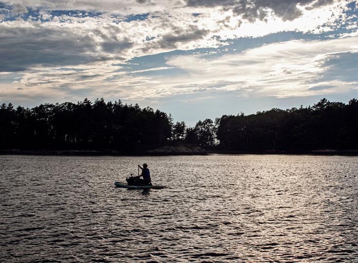 SUP Board - Maine Island Adventure