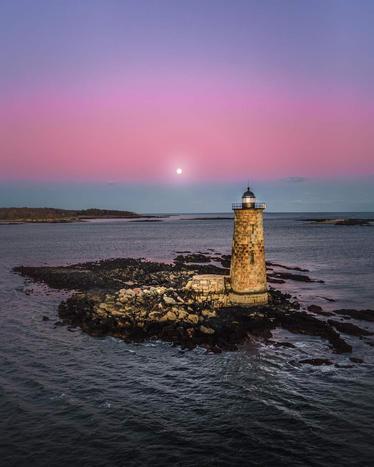 Whaleback Lighthouse, Piscataqua River