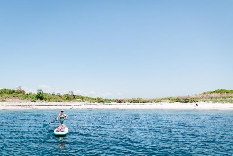 Isolated Island Beach