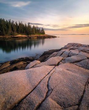 Hidden Cove, Maine Coast Somewhere