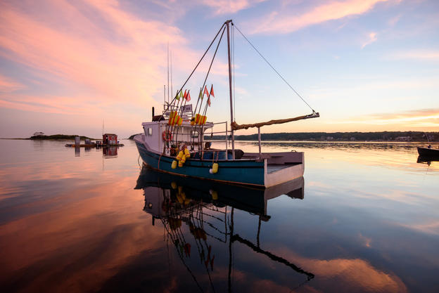 Lobster boat, Cape Purpoise