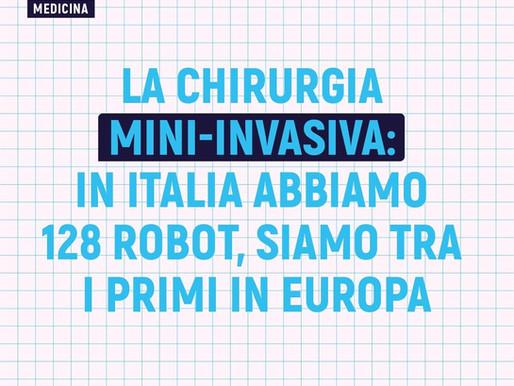 La chirurgia mini-invasiva: in Italia abbiamo 128 robot, siamo tra i primi in Europa