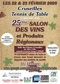 Salon des Vins et des Produits Régionaux de Cruseilles (74)
