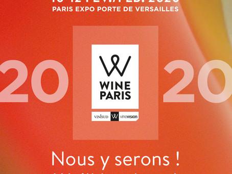 Professionnels, retrouvez-nous au salon Wine Paris !