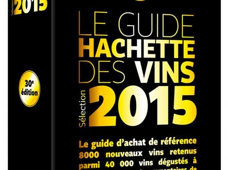 Sélection sur le Guide Hachette des Vins 2015