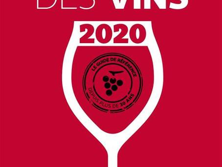 1 étoile au Guide Hachette des Vins 2020 pour notre Côtes du Rhône 2017 et notre Vieilles Vignes 201