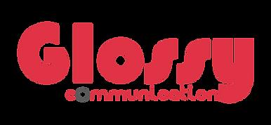 Glossy Communication, graphiste Drôme, création graphique, agence de communication, logo, impression