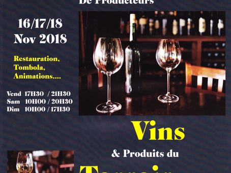 4ème Salon de Producteurs Vins & Produits du Terroir de Viry (74)