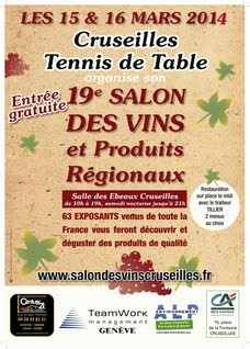 Salon des vins et produits régionaux de Cruseilles