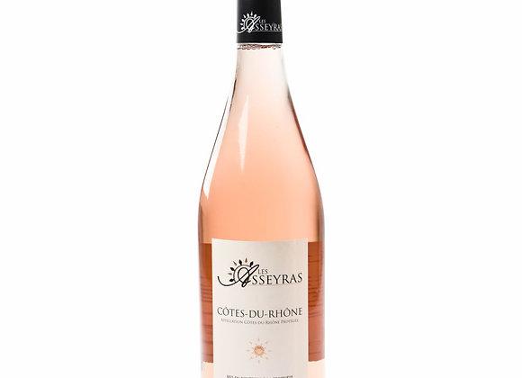 CÔTES DU RHÔNE ROSÉ 2019 - par 6 bouteilles