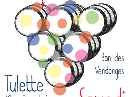 Ban des Vendanges à Tulette