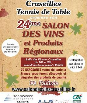 Salon des vins de Cruseilles (74)