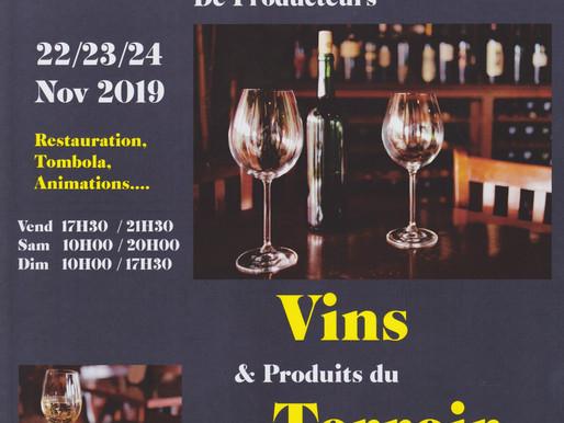 Salon des Producteurs de Vin et Terroir Viry