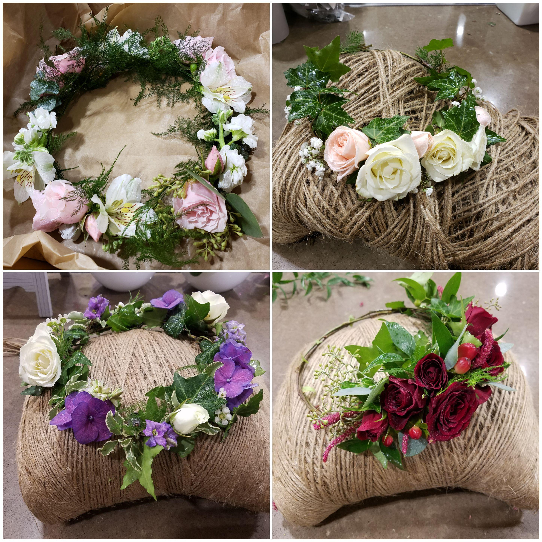 flower crown styles