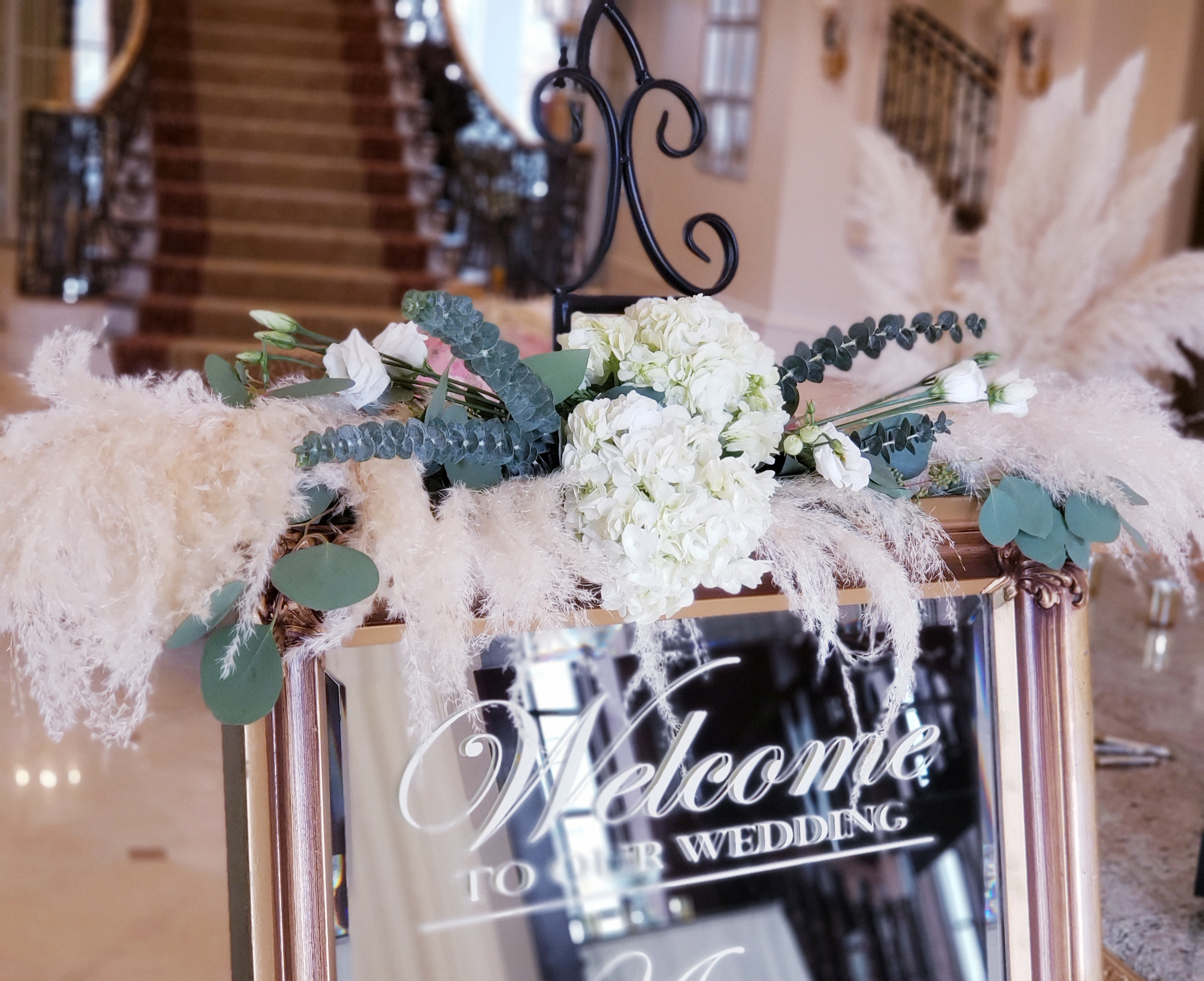 welcome sign flowers pampas.jpg