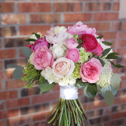 pink and blush bouquet