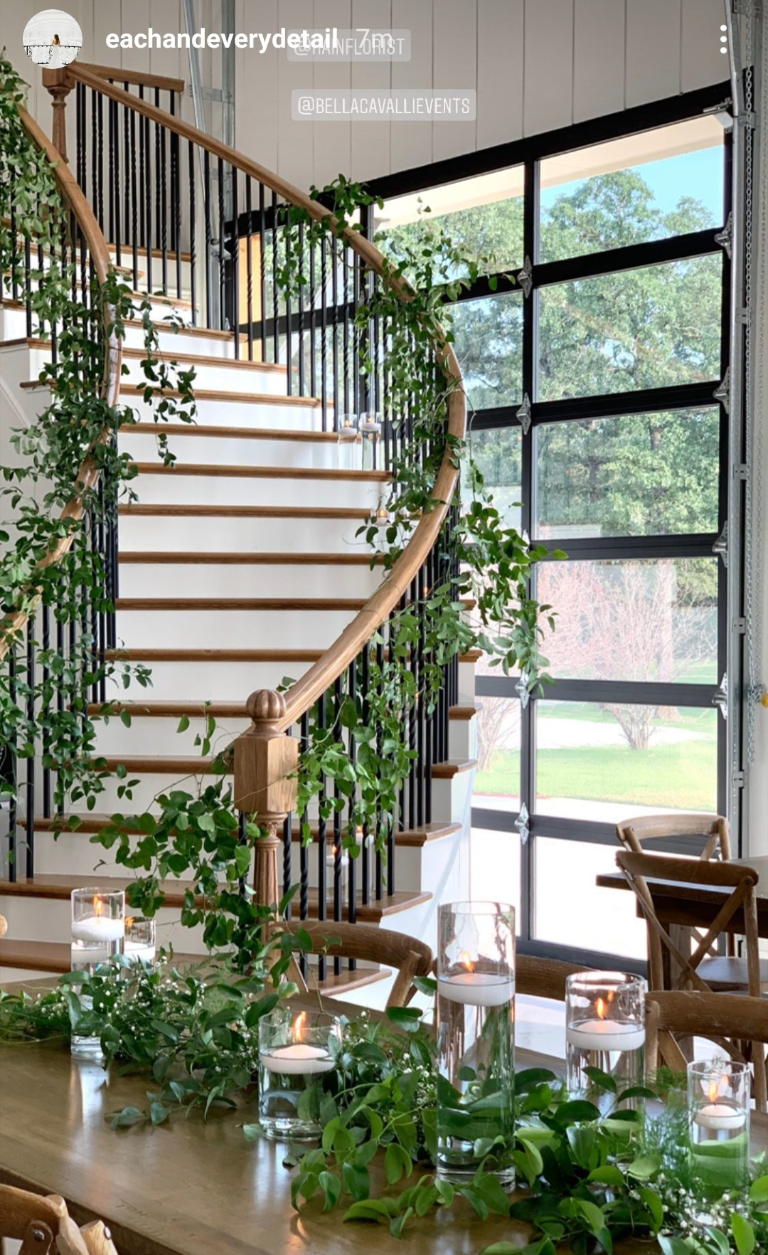 smilax staircase bella cavalli.jpg
