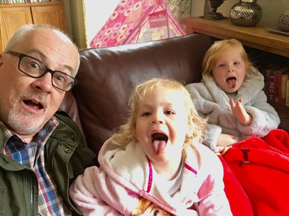 Grandpa and Alana and Lara at Karls pizza party June 2018 -small.jpg