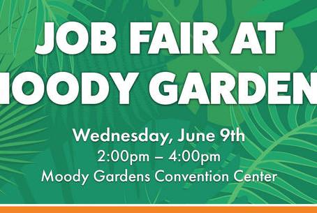 Moody Gardens Job Fair