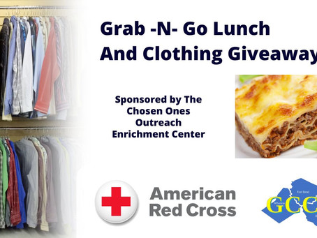 Grab -N- Go Lunch and Clothing Giveaway